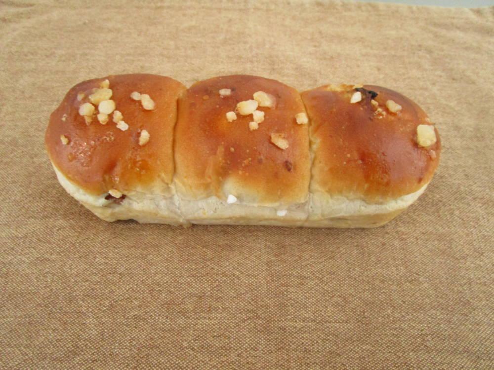 panove ちぎりパン(レーズン&くるみ&あんず)